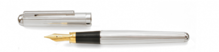 Bath Sterling Silver Fountain Pen - Fine Line Sterling Silver